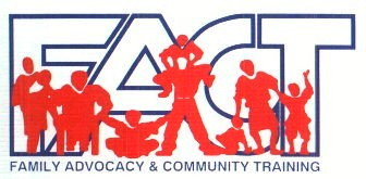 Family Advocacy and Community Training